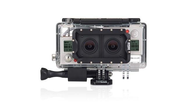 GoPro Kamera Kutusu 3D (Hero3+ Black İçin)